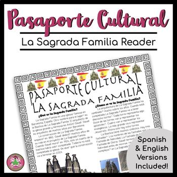 Pasaporte Cultural La Sagrada Familia Reader