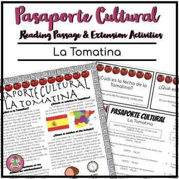 Pasaporte Cultural La Tomatina Reader