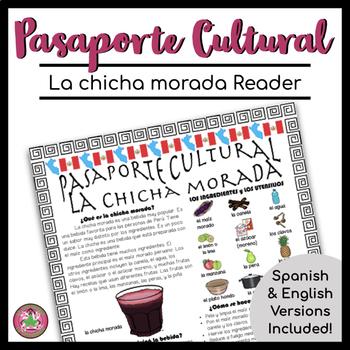 Pasaporte Cultural La chicha morada Reader