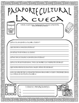 Pasaporte Cultural - La cueca