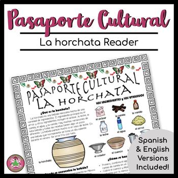 Pasaporte Cultural La horchata Reader