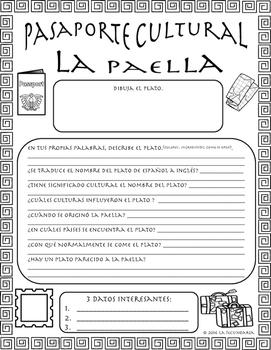 Pasaporte Cultural - La paella