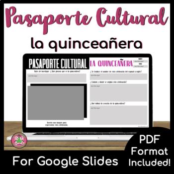 Pasaporte Cultural - La quinceñeara