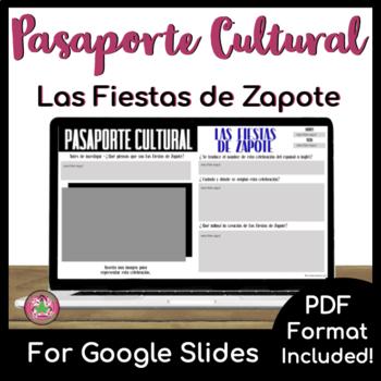 Pasaporte Cultural - Las Fiestas Zapotes