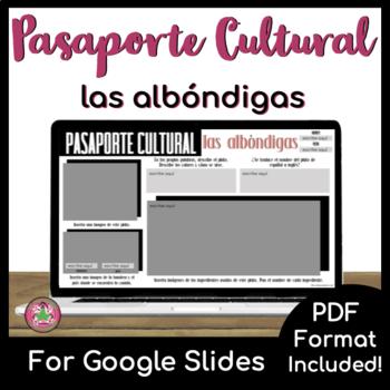 Pasaporte Cultural - Las albóndigas