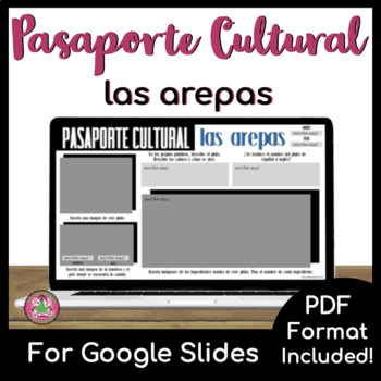 Pasaporte Cultural - Las arepas