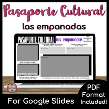 Pasaporte Cultural - Las empanadas