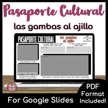 Pasaporte Cultural - Las gambas al ajillo