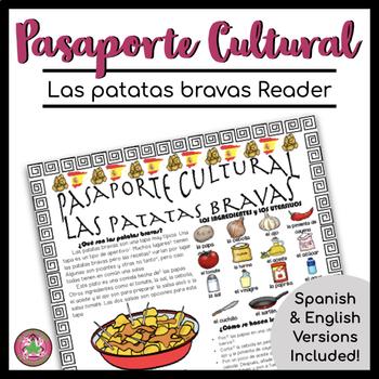 Pasaporte Cultural Las patatas bravas Reader