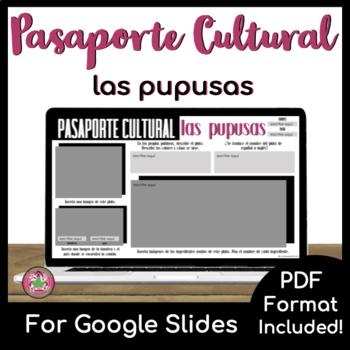 Pasaporte Cultural - Las pupusas