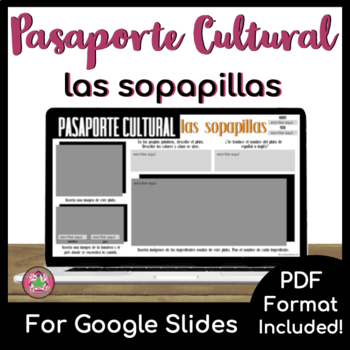 Pasaporte Cultural - Las sopapillas