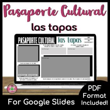 Pasaporte Cultural - Las tapas