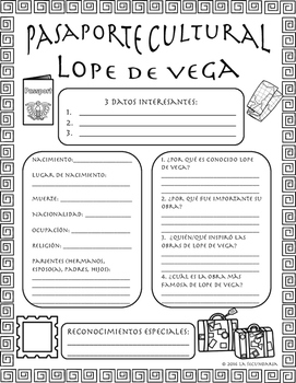 Pasaporte Cultural - Lope de Vega