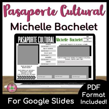 Pasaporte Cultural - Michelle Bachelet