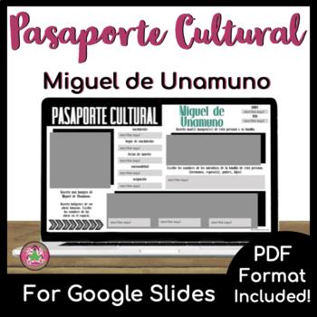 Pasaporte Cultural - Miguel de Unamuno