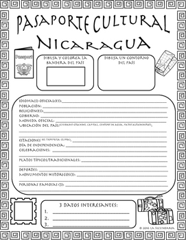 Pasaporte Cultural - Nicaragua