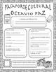 Pasaporte Cultural - Octavio Paz