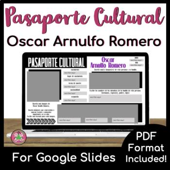Pasaporte Cultural - Oscar Arnulfo Romero