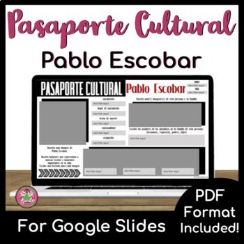 Pasaporte Cultural - Pablo Escobar