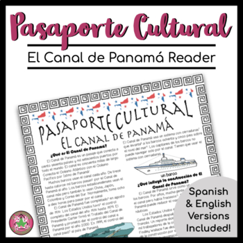 Pasaporte Cultural Panama Canal Reader