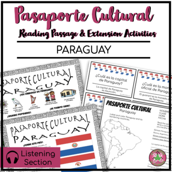 Pasaporte Cultural - Paraguay Reader