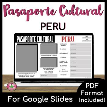 Pasaporte Cultural - Peru
