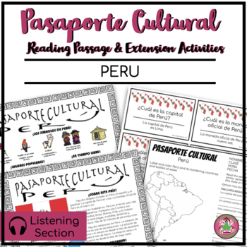 Pasaporte Cultural - Peru Reader