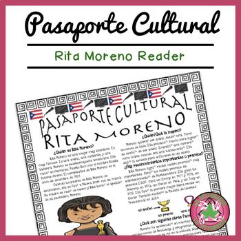 Pasaporte Cultural Rita Moreno Reader