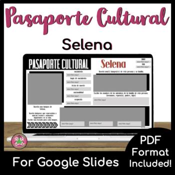 Pasaporte Cultural - Selena