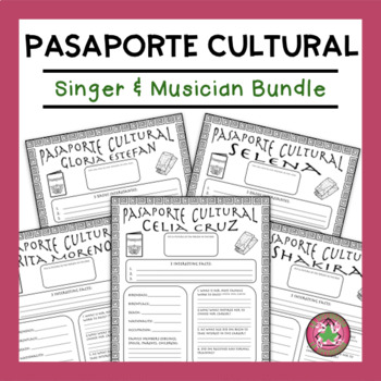 Pasaporte Cultural Singer and Musican Bundle