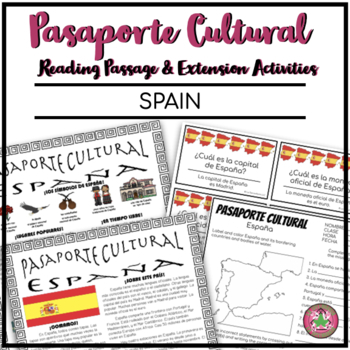 Pasaporte Cultural - Spain Reader