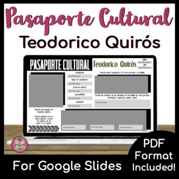Pasaporte Cultural - Teodorico Quirós