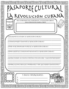 Pasaporte Cultural - The Cuban Revolution