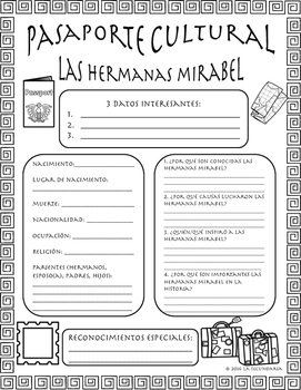 Pasaporte Cultural - The Mirabel Sisters