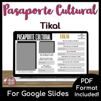 Pasaporte Cultural - Tikal