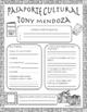 Pasaporte Cultural - Tony Mendoza