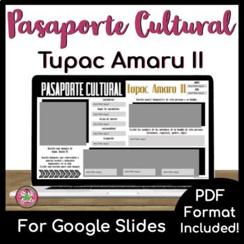 Pasaporte Cultural - Tupac Amaru II