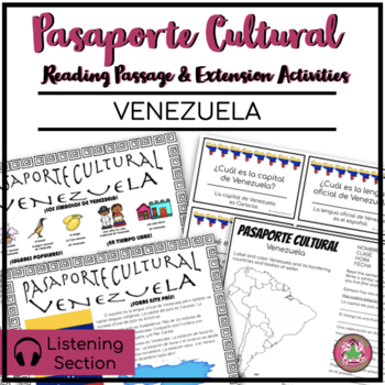 Pasaporte Cultural - Venezuela Reader