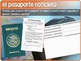 Pasaporte Noticiero (Current Events Passport)