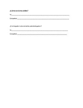 Pasatiempo Survey