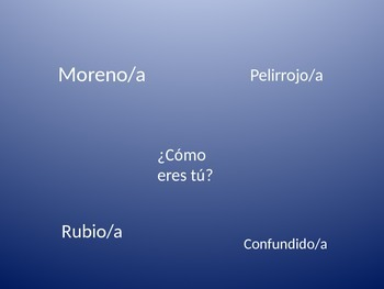 Pasatiempos - Spanish game