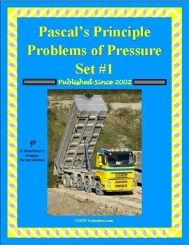 Pascal's Principle Problems of Pressure Set 1 (Forces in Fluids)