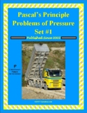 Pascal's Principle Problems of Pressure Set #1 (Forces in