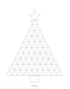 Pascal's Triangle Christmas Tree