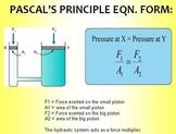 Pascal's Principle  (Warning: FLASH file)