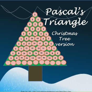 Pascal's Triangle Christmas Tree