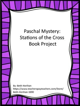 Paschal Mystery (Lent) Book Project