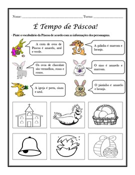 Páscoa: Easter in Portuguese - Bundle (1st to 6th)