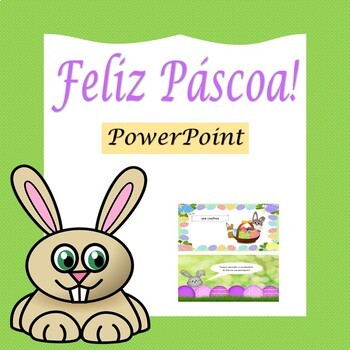 Páscoa: Easter in Portuguese- PowerPoint Presentation (1st to 6th)
