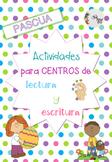 Pascua: Centros lectura y escrituta/ Easter Literacy Cente